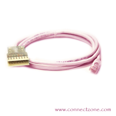 Pink 110-Cat5e Patch Cords