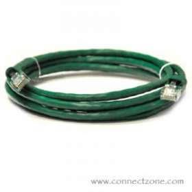 Green Molded Cat6 Patch Cables