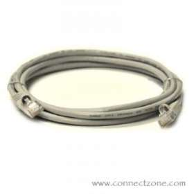 Grey Molded Cat6 Patch Cables
