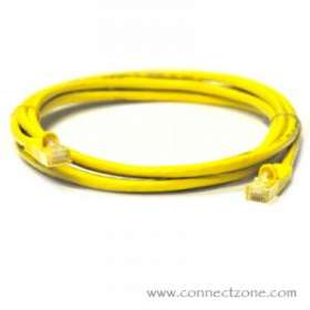 Yellow Molded Cat6 Patch Cables