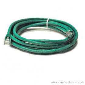Green Molded Cat5e Patch Cable