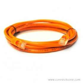 Orange Molded Cat5e Patch Cable