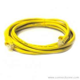 Yellow Molded Cat5e Patch Cable