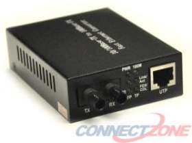 FCM-ST110 Fiber Optic Media Converter Multi Mode 10/100 ST to RJ45