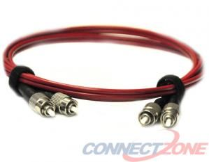 Red Fiber Optics Patch Cords